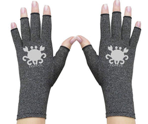 Cancer Zodiac Fingerless Gloves for Arthritis - Arthritis Gloves with Compression - Wrist Wrap - Wrist Support - Arthritis Relief