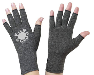 Aquarius Fingerless Gloves for Arthritis - Arthritis Gloves with Compression - Wrist Wrap - Wrist Support - Arthritis Relief