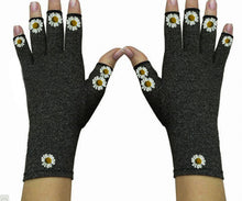 Load image into Gallery viewer, Fingerless Gloves for Arthritis - Arthritis Gloves with Compression - Wrist Wrap - Chamomille