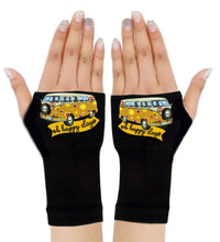 Load image into Gallery viewer, Fingerless Gloves & Wrist Support  Arthritis -  Carpal Tunnel Treatment - Happy Days Orange