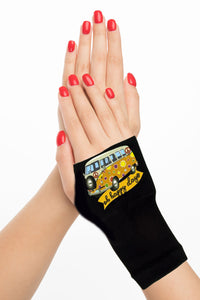 Fingerless Gloves & Wrist Support  Arthritis -  Carpal Tunnel Treatment - Happy Days Orange