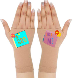Gloves Arthritis  Hands - Arthritis Compression Gloves - Fingerless Compression Gloves - Just Me