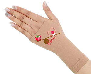 Libra Zodiac Fingerless Gloves - Compression Gloves -Gloves Womens - Arthritis Gloves -  Carpal Tunnel Gloves - Wrist Warmer