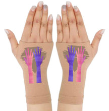 Load image into Gallery viewer, Arthritis  Gloves - Carpal Tunnel Treatment - Wrist Support - Hand Brace - My Hands Brown