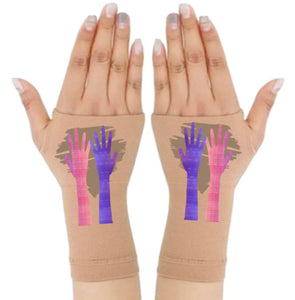 Arthritis  Gloves - Carpal Tunnel Treatment - Wrist Support - Hand Brace - My Hands Brown