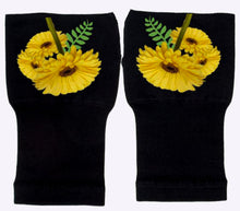 Load image into Gallery viewer, Arthritis  Gloves - Carpal Tunnel Treatment - Wrist Support - Hand Brace - Sunny Sunflowers