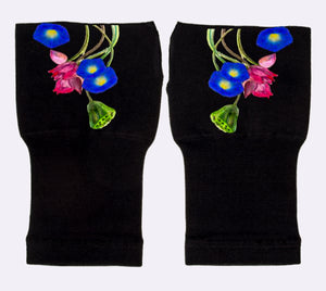 Arthritis  Gloves - Carpal Tunnel Treatment - Wrist Support - Hand Brace - Violet Vine