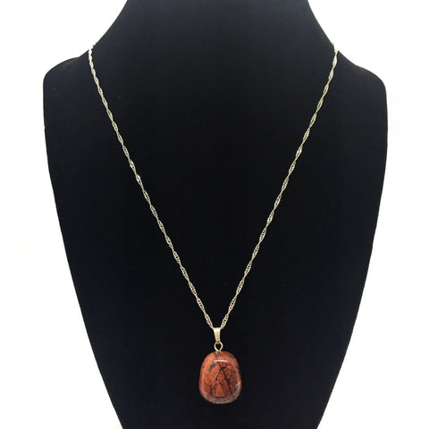Tumble Brecciated Jasper Necklace