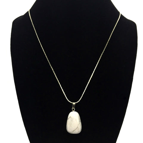 Tumble Howlite Necklace