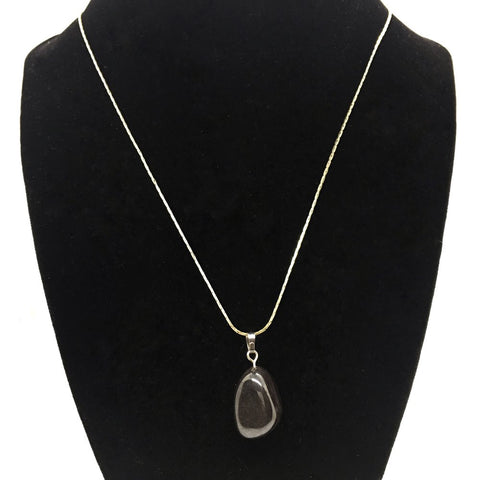Tumble Hematite Necklace