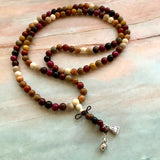 Wood Mala Necklace