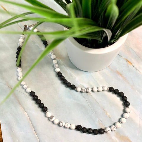 White Lava Necklace
