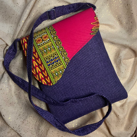 Purple Strap Bag
