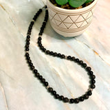 All Black Necklace