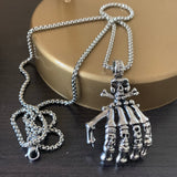 Crawl Claw Necklace