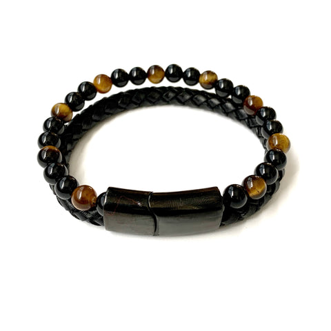 The Guardian Leather Bracelet
