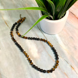 Tiger's Eye Earth Necklace