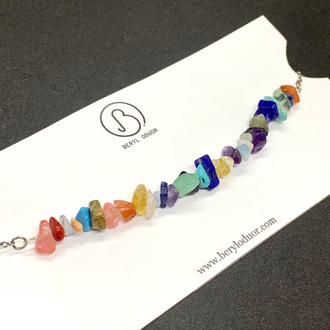 Multi Gemstone Choker