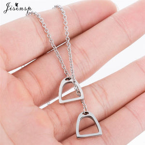 Horse Stirrup Necklace (Buy 1 Get 1 Free)