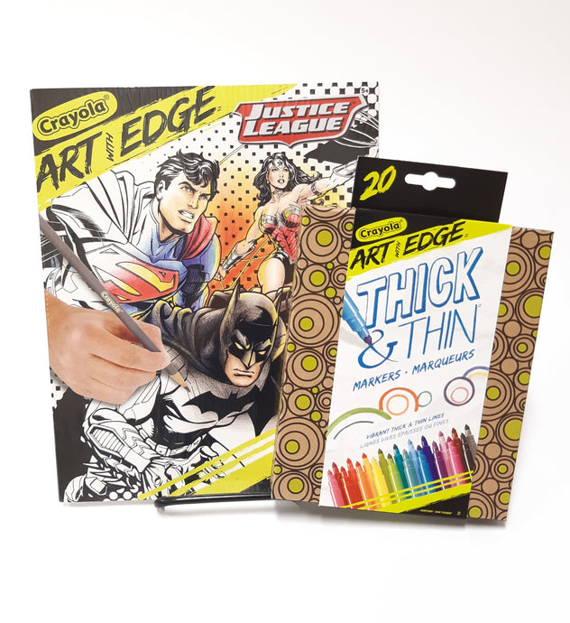 Crayola Art with Edge - colouring set