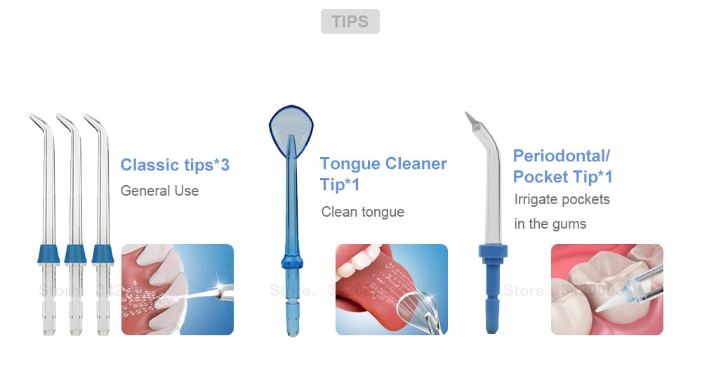 DentalFlosser Pro - 800ml Oral Hygiene Care
