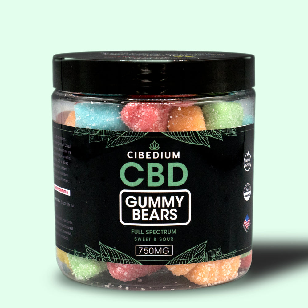 Full Spectrum Sweet & Sour Gummies, 50 count
