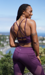 Plum Sports Bra Top