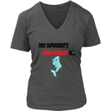 Arch-Nemesis - Fish Version - Women's V-Neck