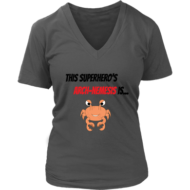 Arch-Nemesis - Shellfish Version - Women's V-Neck