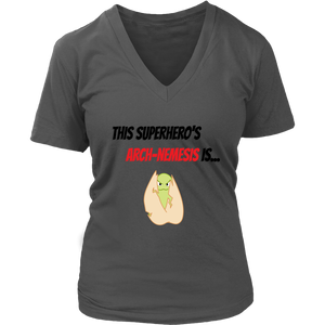 Arch-Nemesis - Treenut Version - Women's V-Neck