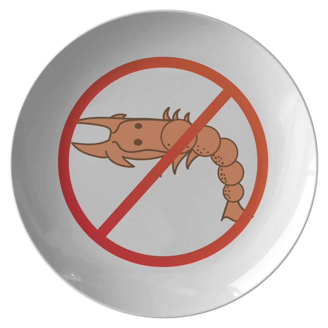 No Shellfish - Plate