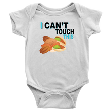Load image into Gallery viewer, I Can't Touch This - Treenut Version - Baby Bodysuit