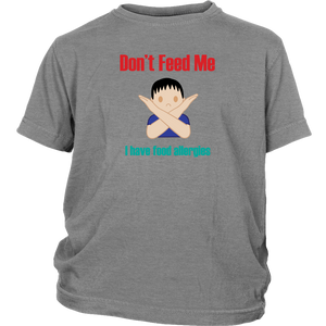Don't Feed Me! Boy Version - Youth Shirt