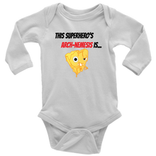 Load image into Gallery viewer, Arch-Nemesis - Milk Version - Long Sleeve Baby Bodysuit