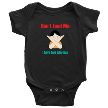Load image into Gallery viewer, Don't Feed Me! Girl Version - Baby Bodysuit