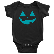 Load image into Gallery viewer, Teal Pumpkin- Baby Bodysuit