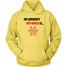 Load image into Gallery viewer, Arch-Nemesis - Shellfish Version - Unisex Hoodie