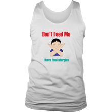 Load image into Gallery viewer, Don't Feed Me! Boy Version - Men's Tank