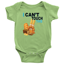 Load image into Gallery viewer, I Can't Touch This - Wheat Version - Baby Bodysuit