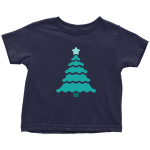Teal Tree - Toddler T-Shirt