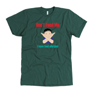 Don't Feed Me! Boy Version - Men's Shirt