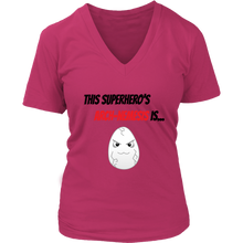 Load image into Gallery viewer, Arch-Nemesis - Egg Version - Women's V-Neck