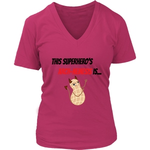 Arch-Nemesis - Peanut Version - Women's V-Neck