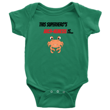 Load image into Gallery viewer, Arch-Nemesis - Shellfish Version - Baby Bodysuit