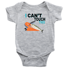 Load image into Gallery viewer, I Can't Touch This - Fish Version - Baby Bodysuit