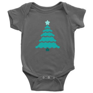 Teal Tree - Baby Bodysuit