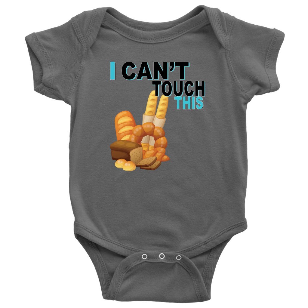 I Can't Touch This - Wheat Version - Baby Bodysuit