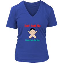 Load image into Gallery viewer, Don't Feed Me! Boy Version - Women's V-Neck