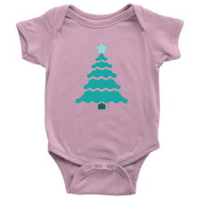 Load image into Gallery viewer, Teal Tree - Baby Bodysuit