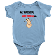 Load image into Gallery viewer, Arch-Nemesis - Peanut Version - Baby Bodysuit